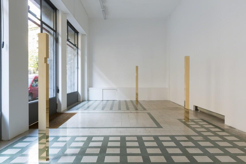 Francesco Arena, 'sette, uno, quattro', 2015 - Installation View at Galleria Raffaella Cortese, Milano - Photo: Roberto Marossi