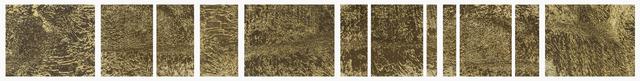 , 'Matrix, Basalt (Pyrogravure Embossing),' 2018, Circuit Gallery