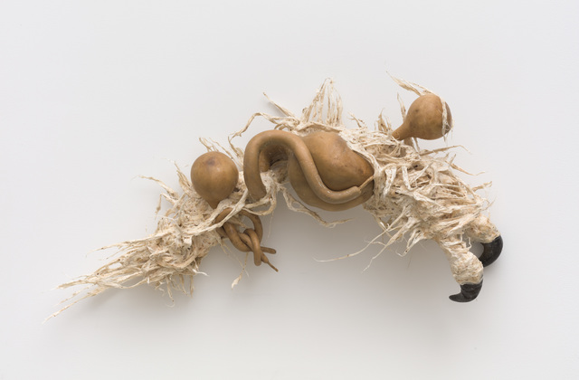 Guadalupe Maravilla, 'Ancestral Stomach 5', 2021, Sculpture, Dried gourd with mixed media, P.P.O.W