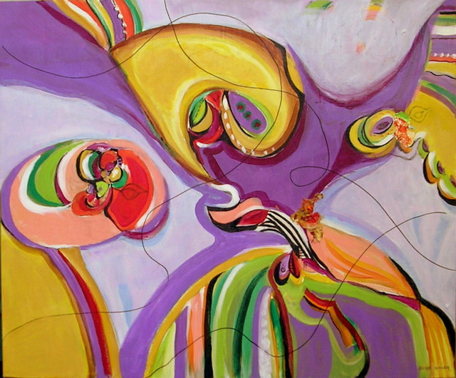 , 'Flying Colors #14,' 2010, Walter Wickiser Gallery