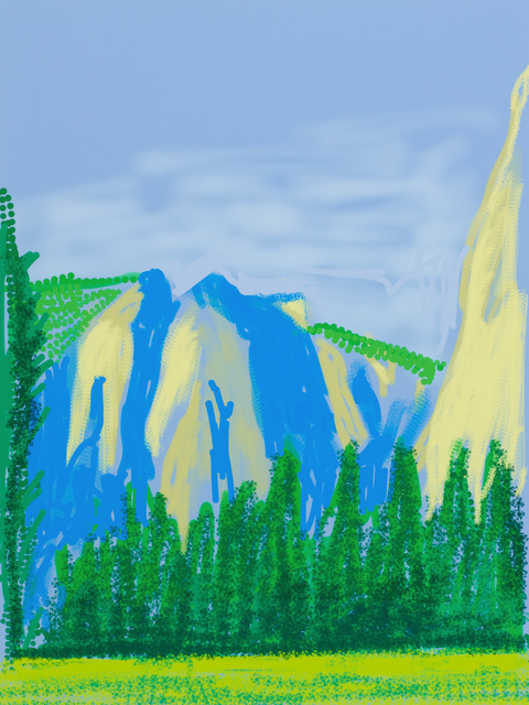 ", '""Untitled No.2 "" from ""The Yosemite Suite"",' 2010, Pace Gallery"