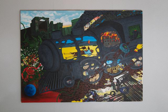 David Wojnarowicz, 'Crash: The Birth of Language/The Invention of Lies', 1986, Gwangju Biennale