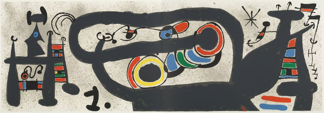 Joan Miró, 'Le Lézard aux Plumes d'Or (M828)', 1971, Hans den Hollander Prints