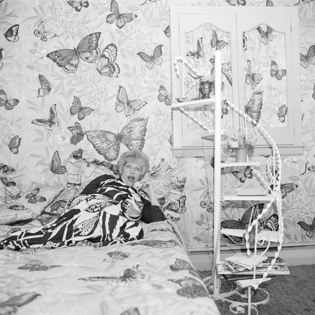 , 'Butterfly Bedroom Telephone, East Meadow, NY. June 1975,' 1975, Undercurrent Projects
