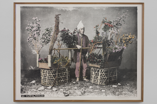 , 'Flower Peddler,' 2018, Vistamare/Vistamarestudio