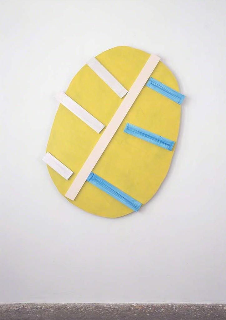 Imi Knoebel. 'LUEB Go', 2013 acrylic on aluminum 173 x 144.6 x 6.5 cm