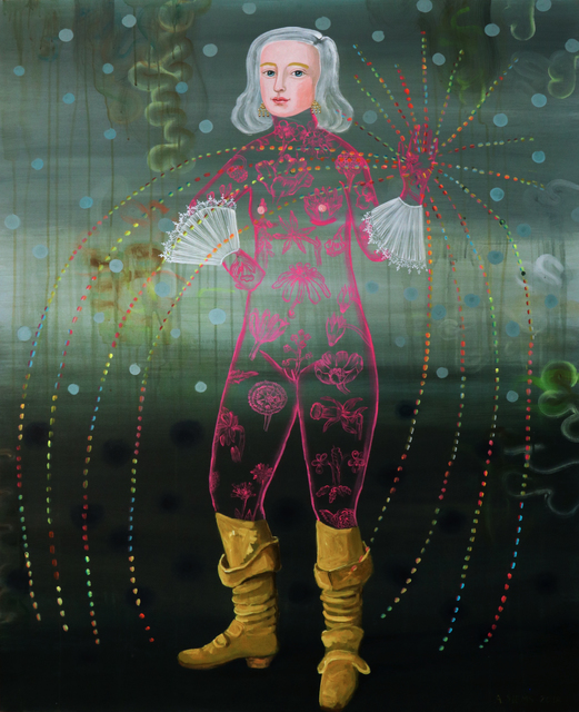 , 'Yellow Boots Woman ,' 2018, David Lusk Gallery