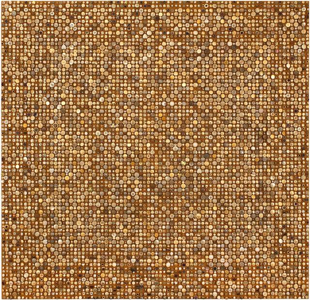 , 'Afinidades cromáticas - Dourado,' 2015, Galeria Nara Roesler