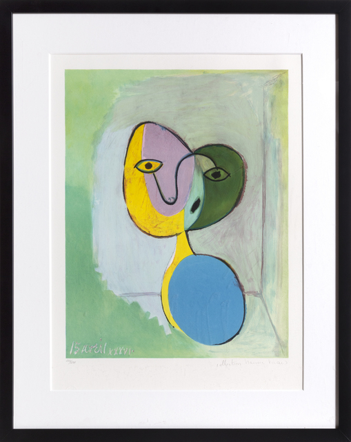 Pablo Picasso, 'Figure (Portrait of Marie Therese Walter)', 1973-Originally created 1936, RoGallery