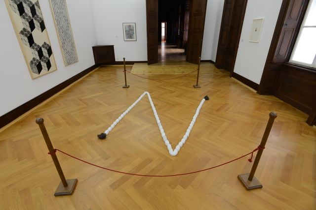 , 'Z (rope),' 2009, Art Encounters Foundation