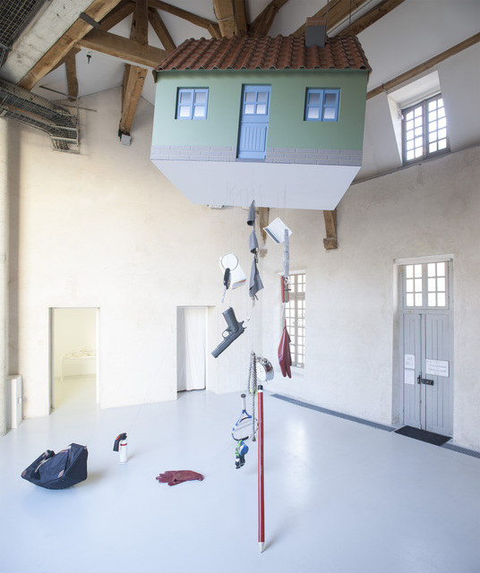 , 'Flying House,' 2017, La Patinoire Royale / Galerie Valerie Bach