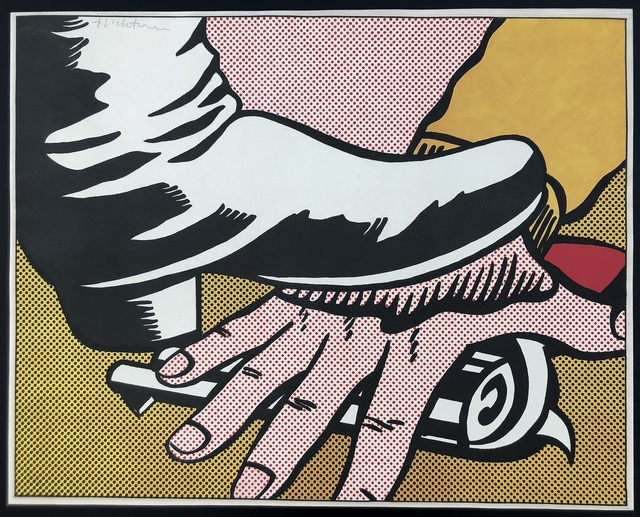 Roy Lichtenstein, 'Foot and Hand', 1964, Roy Art Consulting & Trading