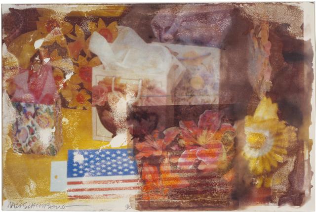 Robert Rauschenberg, 'Summer Wrapping (Anagram)', 1996, BASTIAN