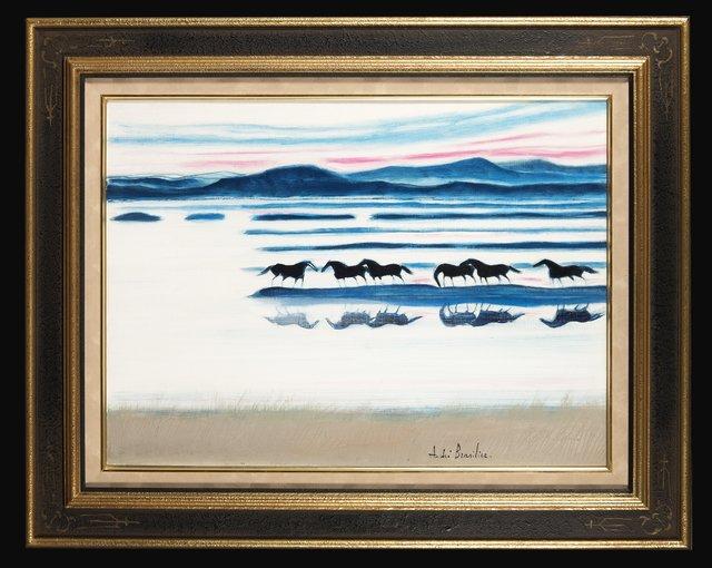 , 'Soleil couchant en Irlande,' 1982, Trinity House Paintings