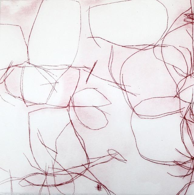 , 'Crimson Overgrowth II,' 2015, Paraphé