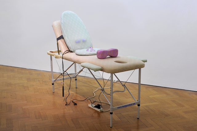 , 'Activia Massage,' 2014, Gregor Staiger