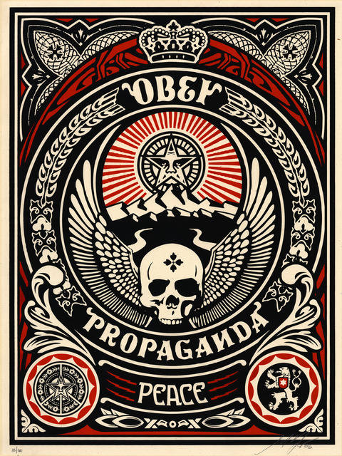 Shepard Fairey (OBEY), 'Psycho Pose', 2006, Gallery 211