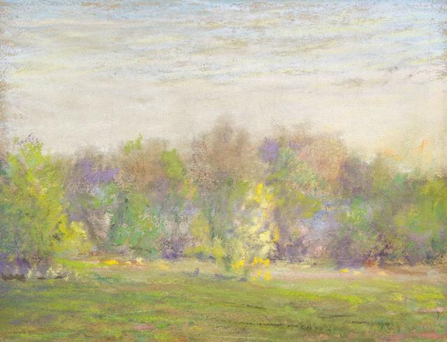 , 'SPRING LANDSCAPE,' , Jerald Melberg Gallery