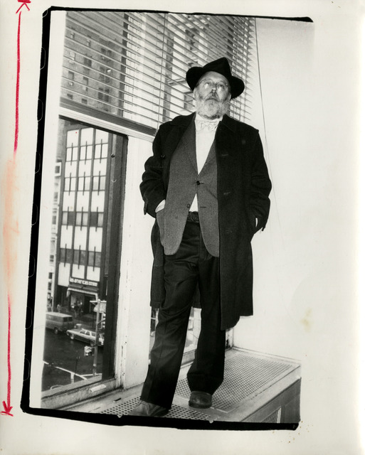 Andy Warhol, 'Andy Warhol, Photograph of Henry Geldzahler circa 1979', ca. 1979, Hedges Projects