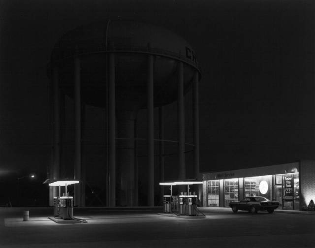 , 'Petit's Mobil Station,' 1974, Danziger Gallery