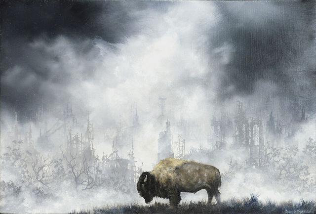 , 'Plains Bison,' 2015, Abend Gallery