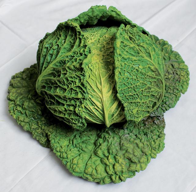 Rafael Muyor, ' cabbage open', 2019, Sculpture, Bronze, Galería Marita Segovia