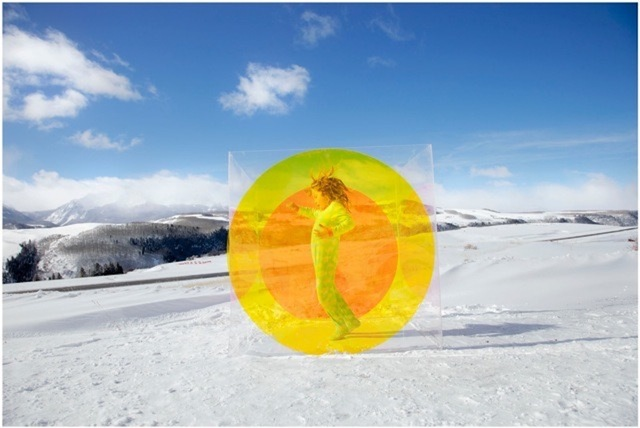 , 'Untitled (Snow Circle Girl) from the COLORSHAPE Series,' 2013, Grob Gallery