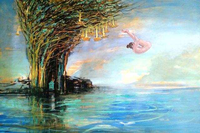 LORENZO MOYA, 'Sea of Flowers', 2017, Kunst.cl