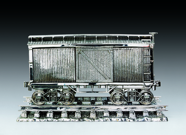 , 'Jim Beam - Box Car,' 1986, Craig F. Starr Gallery