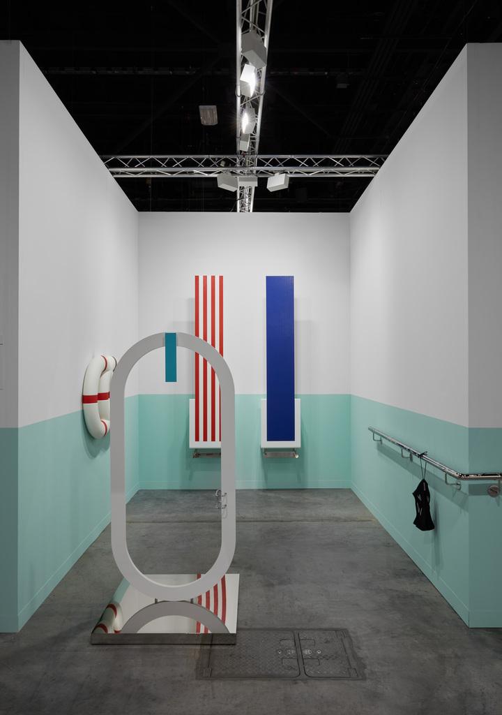 Elmgreen & Dragset (b.1961, b.1969) Installation view of Art Basel Miami Beach 2019 Kabinett Sector Before The Storm Photo: Sebastiano Pellion di Persano