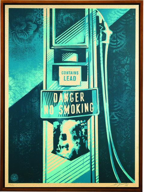 Shepard Fairey (OBEY), 'Danger No Smoking', 2016, Underdogs Gallery