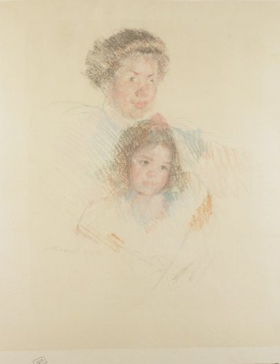 , 'Heads of Reine and Margot,' ca. 1900, Adelson Galleries