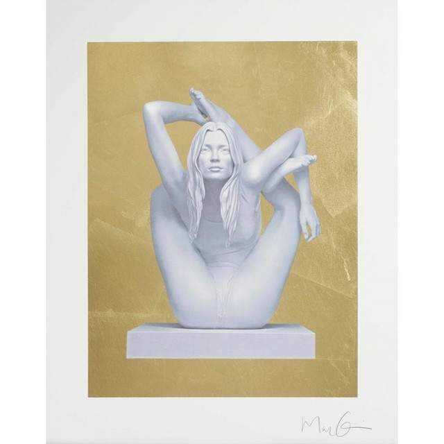 Marc Quinn, 'Sphinx (Gold Leaf)', 2011, Fine Art Mia