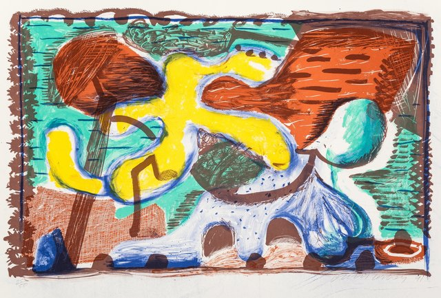 David Hockney, 'The new and the old and the new', 1991, Heritage Auctions