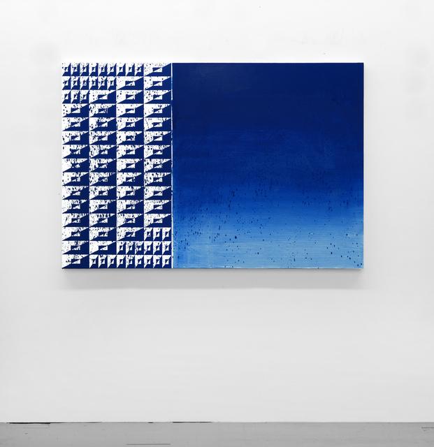 Matt Mignanelli, 'Onshore Breeze', 2019, Painting, Enamel and acrylic on canvas, Denny Dimin Gallery