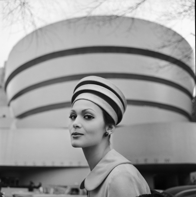 , 'Guggenheim Hat, New York, 1960,' , Monroe Gallery of Photography
