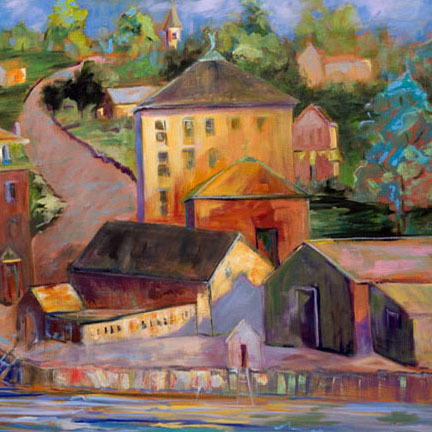 Rebecca Thompson, 'Village ', 2010, Greg Thompson Fine Art