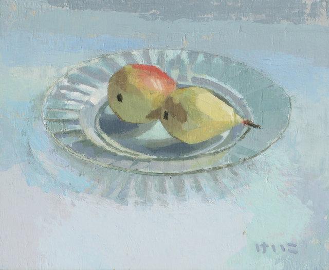 Keiko Ogawa, 'Plate of fruit', 2018, GALERIA JORDI BARNADAS