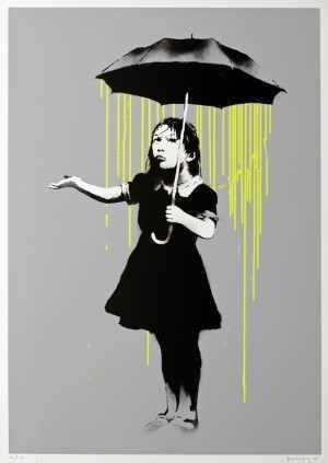 Banksy, 'Nola (Yellow Rain)', 2008, Contemporary Art Trader
