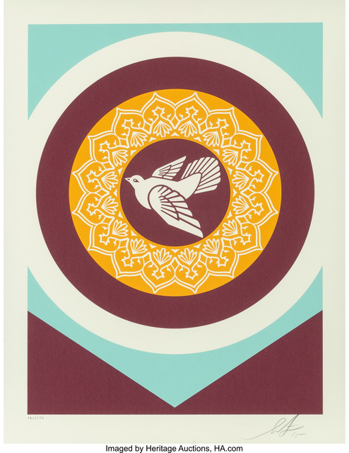Shepard Fairey (OBEY), 'Untitled, from Obey Peace Series 2 (Doves)', 2015, Heritage Auctions