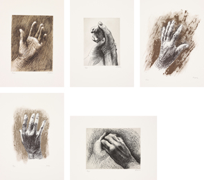 Henry Moore, 'The Artist's Hand,' 1980, Phillips: Evening and Day Editions