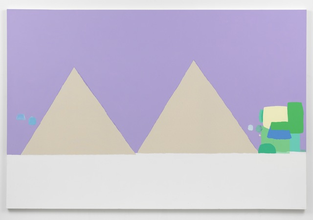 , 'Landscape with two triangles,' 2015, Sies + Höke