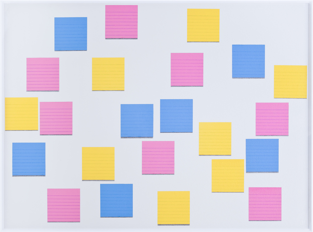 , 'Post-its I,' 2013, Galeria Enrique Guerrero