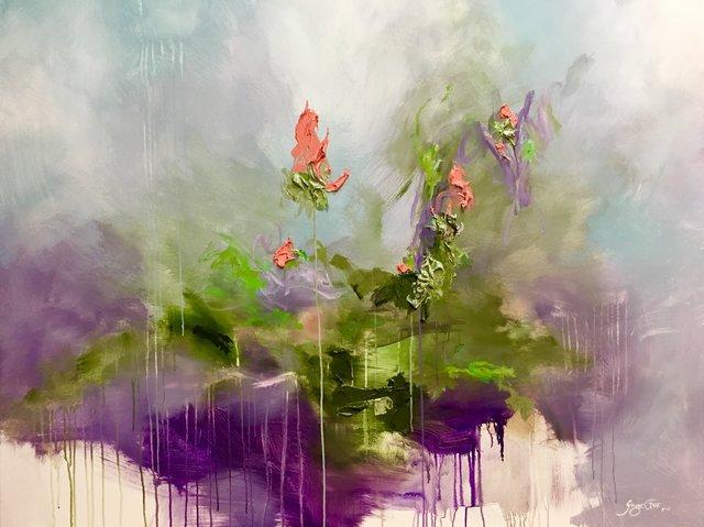 , 'Lavender Plume,' 2018, Ginger Fox Gallery