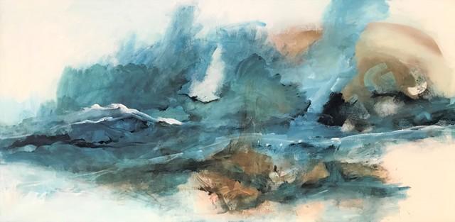 Tiny de Bruin, 'Floating shades', 2020, Painting, Acrylic, Tiny's Galerie