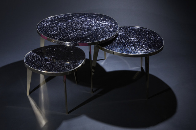 ", '""Tris,"" Nest of Three Tables,' 2017, Donzella LTD"