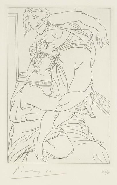 Pablo Picasso, 'Cinésias et Myrrhine, from Lysistrata', 1934, Christie's