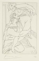 Cinésias et Myrrhine, from Lysistrata