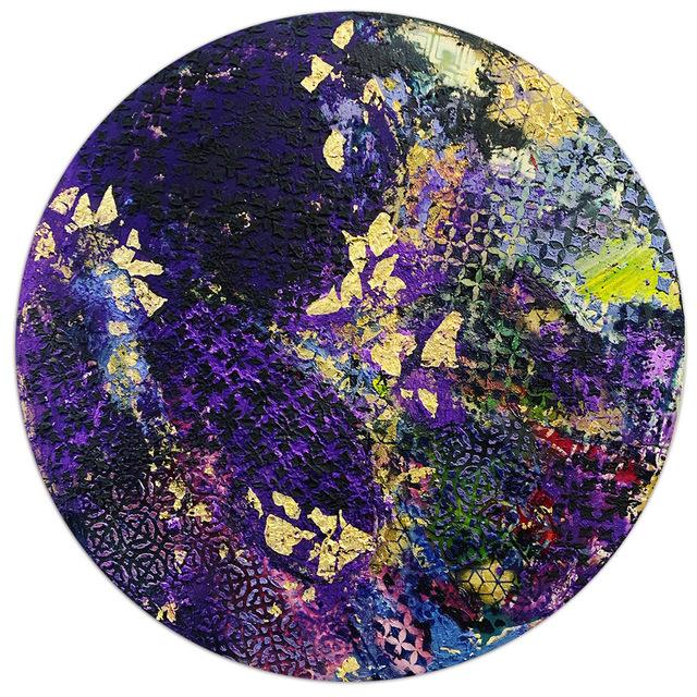 , 'Purple Magnet,' 2019, ART50.NET
