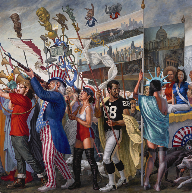 , 'The Triumph of Democracy,' 2016, Somerville Manning Gallery